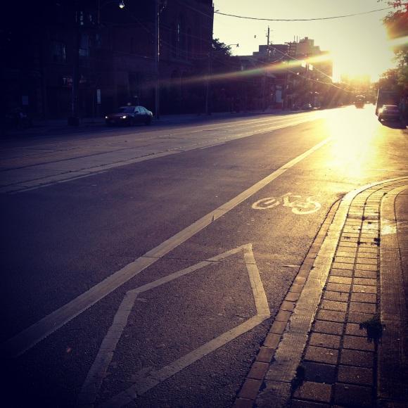 Bikelane light